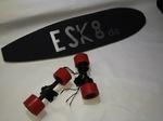 eSk8.de - eSkateboard mit Radnabenmotoren